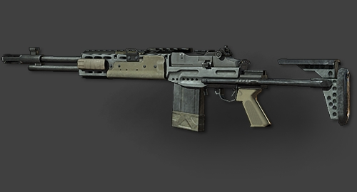 MW3 M14 EBR.