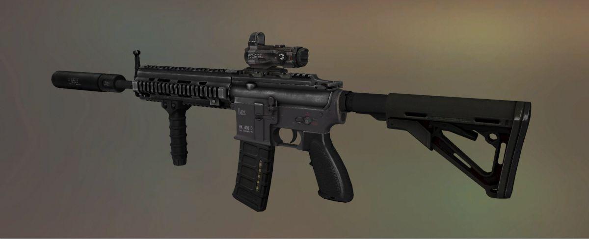 HK416 для M4A1