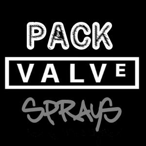Пак спреев игр Valve + Гейб Ньюелл :D