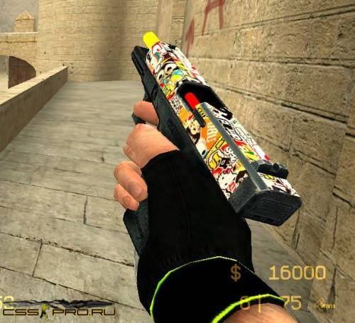 Glock By [23] Кудря.) stickerBOMBINGG - 1