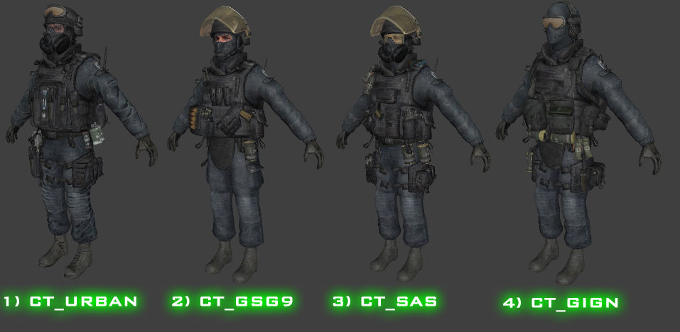 MW3 Skins Players GIGN V2