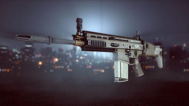 FN SCAR H Battlefield 4
