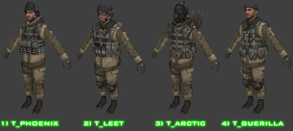 MW3 Skins Players Spetsnaz V2