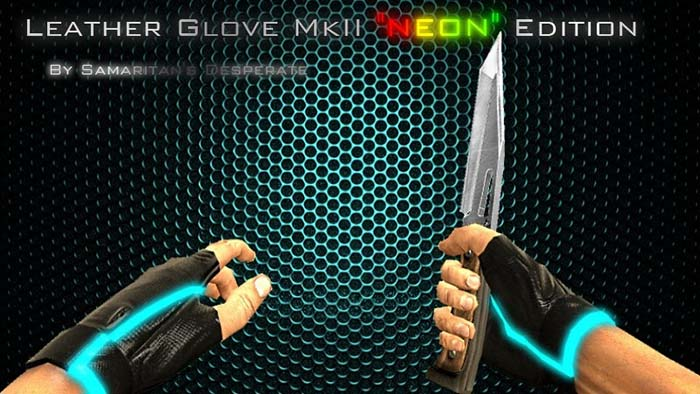 "Leather Glove MkII ""NEON"" Edition"