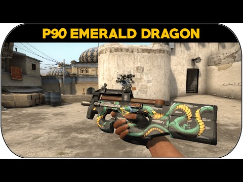 P90 l Emerald Dragon