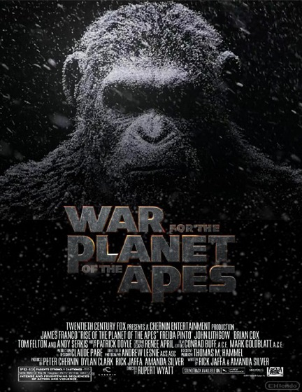 Планета обезьян: Война / War for the Planet of the Apes (2017) BDRip 1080p от ExKinoRay | D, L1 | iTunes