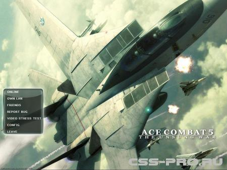 Фон меню ace combat для Counter-Strike Source