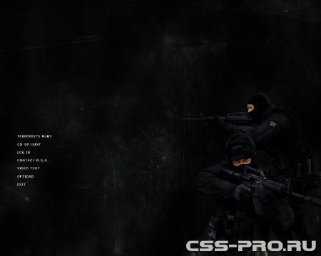 Фон меню tactical для Counter-Strike Source