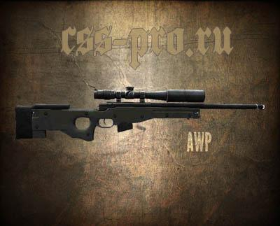 Модель awp (AWP For Fighters) для CS:S