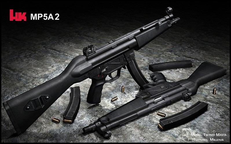 Heckler & Koch MP5A2