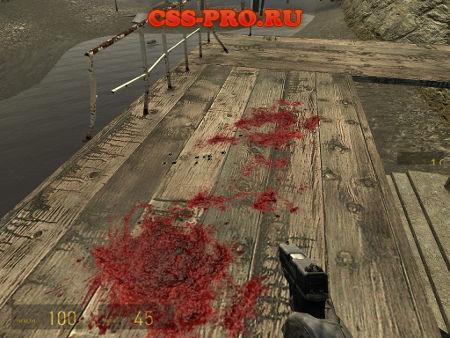 Кровь из Crysis (Enhanced Crysis Blood)