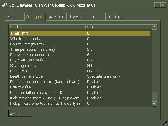 Настроенный rcon команды для css сервера хостинг для почтовика