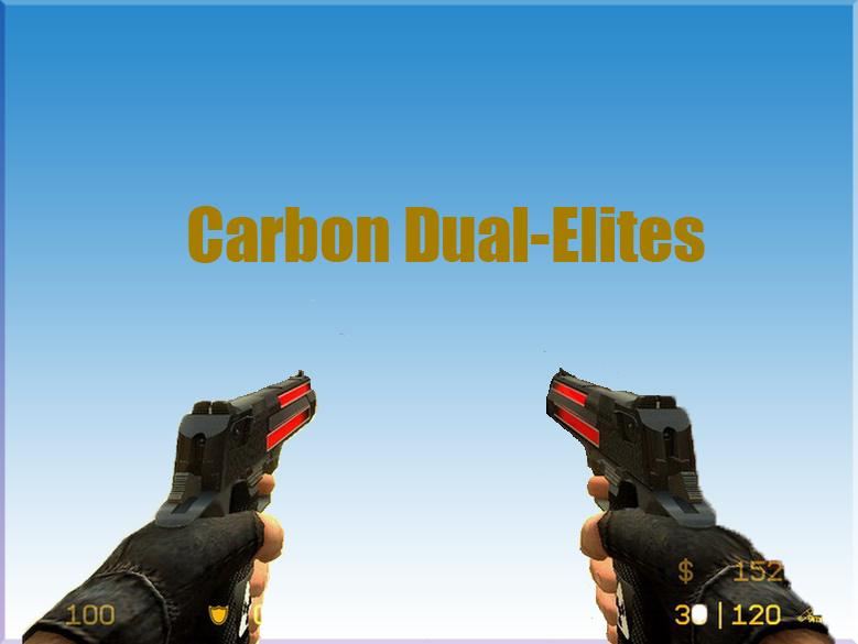 Carbon Dual-Elites ANIMATED