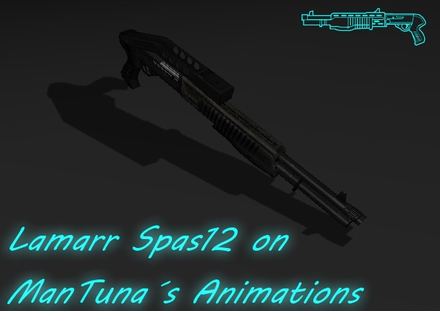 Lamarr´s SPAS-12 on ManTuna Animations