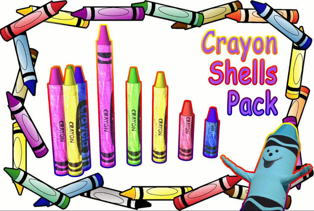 Crayon Shells Pack