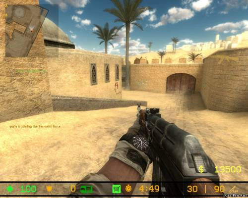 Counter-Strike Source 4 Modern Warfare 1.01 - 1