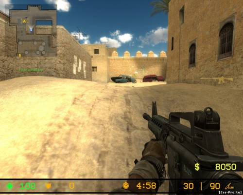Counter-Strike Source 4 Modern Warfare 1.01 - 4
