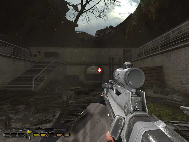 COD7 Black Ops Famas with ACOG