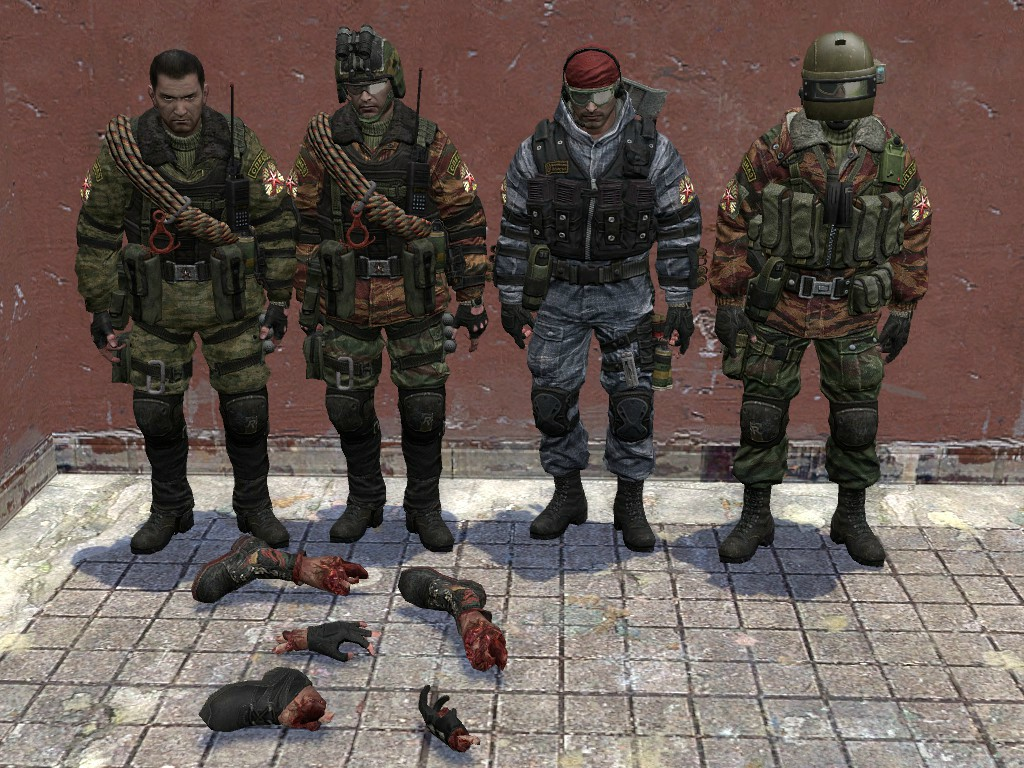 Battery Online Player Models CT An Terror Team Pack By BravoSix