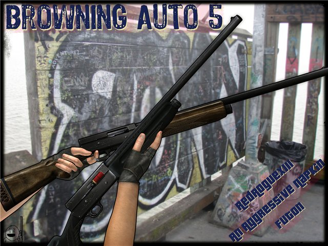Browning Auto 5 from Artist