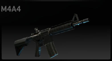 CS:GO M4A1 On DMG's Anims (convert by <<<G@L>>>)