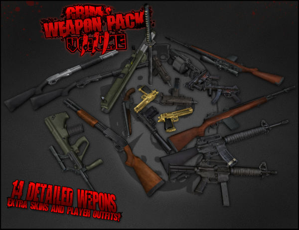 Css Pack v80 and Steam by Max0Dj Random weapons