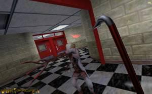 В каких условиях разрабатывалась первая Half-life?